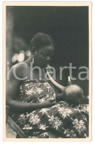 1930 ca Casimir ZAGOURSKI «L'Afrique qui disparaît» Une fumeuse *Postcard n.5