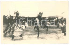 1930 ca C. ZAGOURSKI «L'Afrique qui disparaît» RUANDA Danses - Postcard 114