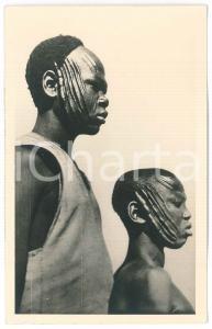 1930 ZAGOURSKI «L'Afrique qui disparaît»  Types SARRA - Scarification visage
