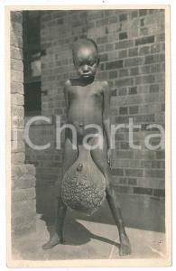 1930 ca C. ZAGOURSKI «L'Afrique qui disparaît» Elephantiasis - Postcard n.165