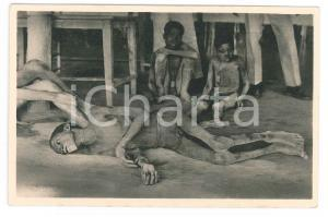 1930ca C. ZAGOURSKI «L'Afrique qui disparaît» Maladies de sommeil - Postcard 166