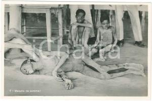 1930ca C. ZAGOURSKI «L'Afrique qui disparaît» Maladies tropicales - Postcard 166