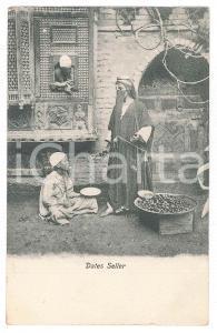1900 ca EGYPTE Dates seller - Carte postale FP NV