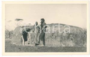 1930 ca Casimir ZAGOURSKI - CONGO BELGE Cabane africaine - Carte postale