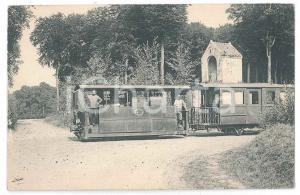 1910 ca BELGIQUE - Ligne COMINES-ARMENTIERES - LE TOUQUET Carte postale RRR