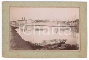 1897 MELUN (FRANCE) Vue de la Prison Centrale - Photo VINTAGE 13x9 cm