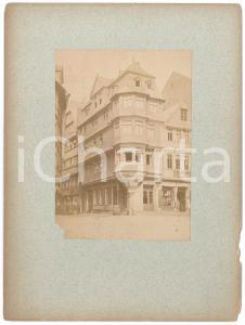 1890 ca GERMANY Building in the old town - Cigar shop - VINTAGE Photo 18x24