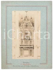 1900 ca BRUXELLES Architecte Guillame LOW - Maison