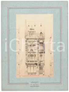 1900 ca BRUXELLES ARCHITECTURE - Maison