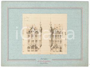 1900 BRUXELLES Architecte Guillaume LOW - Maison