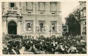 1930ca ROMA QUIRINALE Il saluto di 100.000 camicie nere a Vittorio Emanuele III
