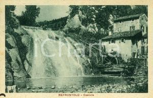 1924 REFRONTOLO (TV) Cascata con mulino - Cartolina FP VG