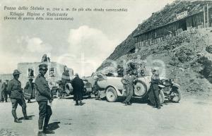 1920ca PASSO DELLO STELVIO Ristorante GIOGO DELLO STELVIO Rovine casa cantoniera