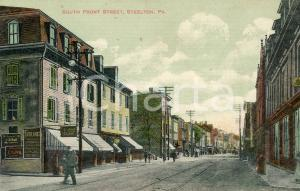 1911 STEELTON, PENNSYLVANIA South front street - Postcard FP NV