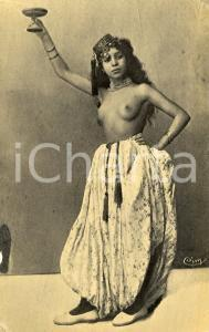 1910 ca AFRIQUE DU NORD - NU ETHNIQUE Type de femme - Vintage postcard FP NV