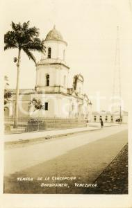 1900 ca BARQUISIMETO (VENEZUELA) Templo de la Concepción - Tarjeta postal