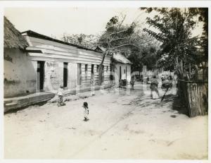 1929 MERIDA (VENEZUELA) La Veguilla - Niños en la calle - Photo 11x8 cm