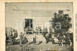 1900 ca ROSARIO (URUGUAY) Alrededores - Cartolina postale vintage ANIMATA NV