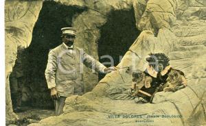 1911 MONTEVIDEO URUGUAY Villa Dolores Jardin Zoologico *Scimmia vestita da donna