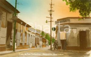 1915 ca MAIQUETIA (VENEZUELA) Calle de SAN SEBASTIAN - Bar Maiquetia *Tarjeta