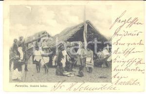 1903 MARACAIBO (VENEZUELA) GOHAIRA Indios - Tarjeta postal ETNICA FP