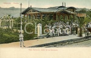 1900 ca VALENCIA (VENEZUELA) Paseo Camoruco - Jardin de la Cerveceria - Tarjeta