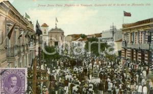 1910 MARACAIBO (VENEZUELA) Primer Paseo Civico Alegorico - Tarjeta postal