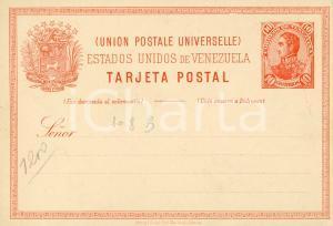 1910 ca Estados Unidos de VENEZUELA - Tarjeta postal 10 correos - Vintage
