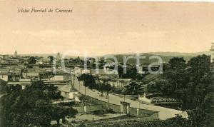 1910 ca CARACAS (VENEZUELA) Vista parcial - Tarjeta postal vintage FP
