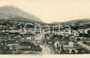 1905 ca CARACAS (VENEZUELA) Vue générale - Avenue Bolivar *Carte postale vintage