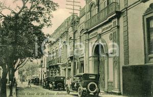 1910 ca CARACAS VENEZUELA Avenida Oeste de Plaza Bolivar *Cartolina ANIMATA auto
