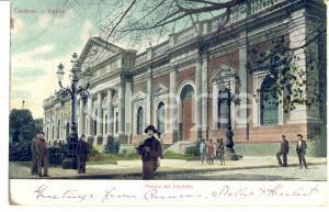 1909 CARACAS (VENEZUELA) Palacio del Capitolio - Cartolina ANIMATA FP VG