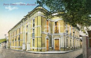 1910 ca PUERTO CABELLO (VENEZUELA) Teatro Municipal - Cartolina postale FP NV