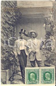1913 COSTUMI VENEZUELA El Araguato - Canzone -  Cartolina postale FP VG