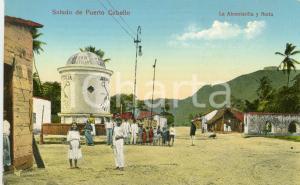 1910 ca PUERTO CABELLO (VENEZUELA) La Alcantarilla y Noria - Cartolina ANIMATA FP NV