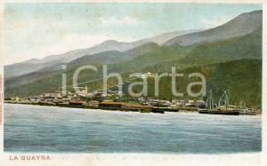 1910 ca LA GUAIRA (VENEZUELA) Veduta dal mare - Cartolina vintage FP NV