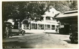 1930 ca LA GUAIRA (VENEZUELA) La Aduana - Cartolina vintage ANIMATA FP NV