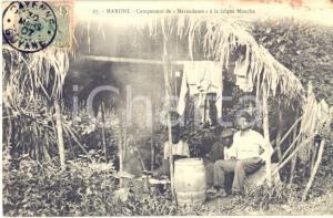 1907 CAYENNE (GUYANE) MARONI Campement de