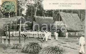 1907 CAYENNE (GUYANE) MARONI Chantier pénitentiaire forestier