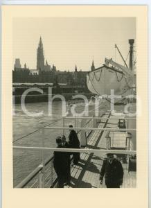 1948 M.V. ALBERTVILLE Compagnie Maritime Belge S.A. RETOUR A ANVERS Cartolina FG