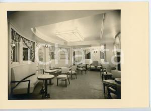 1948 M.V. ALBERTVILLE Compagnie Maritime Belge S.A. LE CAFE Cartolina FG
