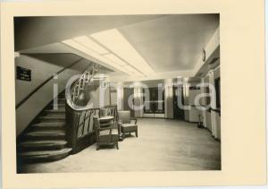 1948 M.V. ALBERTVILLE Compagnie Maritime Belge S.A. HALL D'ENTREE Cartolina FG