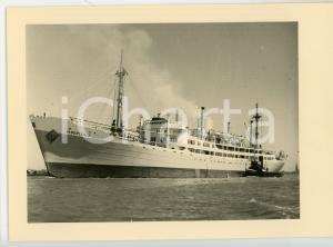 1948 M.V. ALBERTVILLE Compagnie Maritime Belge S.A. Cartolina postale FG