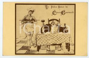1950 ca NANCY Restaurant du Capucin Gourmand - Carte postale publicitaire risque
