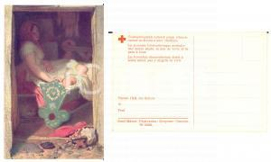 1915 ca  RED CROSS CZECH REPUBLIC Josef Manes - Uspavanka *Postcard