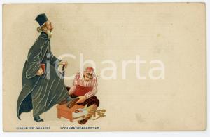1910 ca GRÈCE Cireur de souliers - Carte postale ILLUSTRÉE FP NV