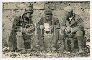 1900 ca BATOUMI (GÉORGIE) Groupe indigènes - Carte postale FP NV
