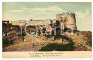 1915 ca SALONIQUE (GRÈCE) Tour de Yédi Koulé - Carte postale FP NV