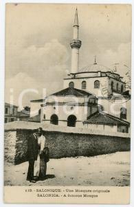 1924 SALONIQUE (GRÈCE) Une Mosquée originale - Carte postale FP NV