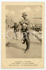 1919 THESSALONIKI - MACEDONIA Small traders - China merchant - Postcard FP NV